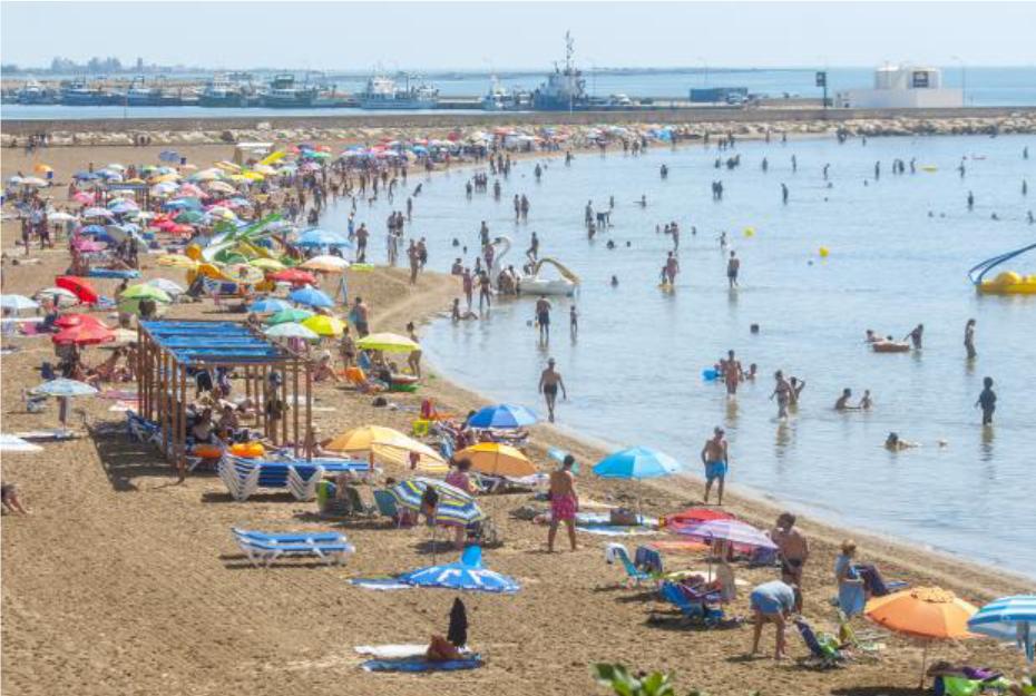 Playa Sant Carles de la Rapita